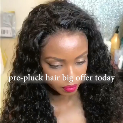 Prepluck shining Curly Hair