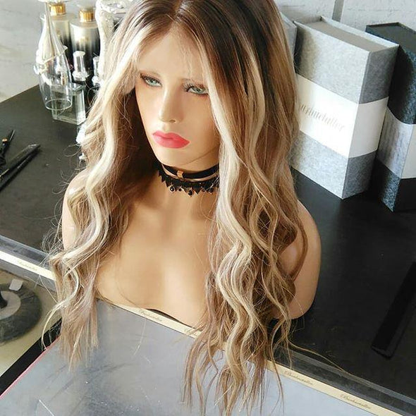 blonde fashion wig - satisionline
