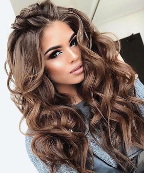 2019INS hot dark brown wig - satisionline