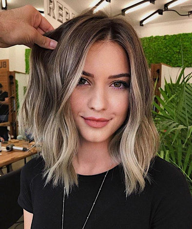 2019 Beauty Short Blonde Wig - satisionline