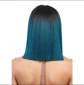Front green Wig—140%(EXTRA THICK AS IN VIDEO) - satisionline