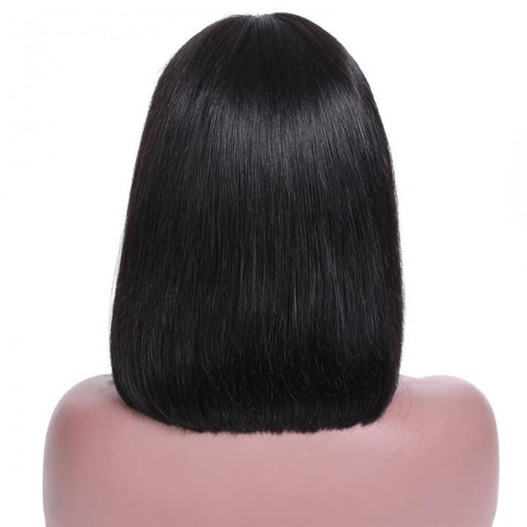 Natural Black Color  Bob Wig - satisionline