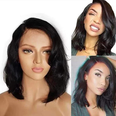 Glueless New trend short wave wig - satisionline