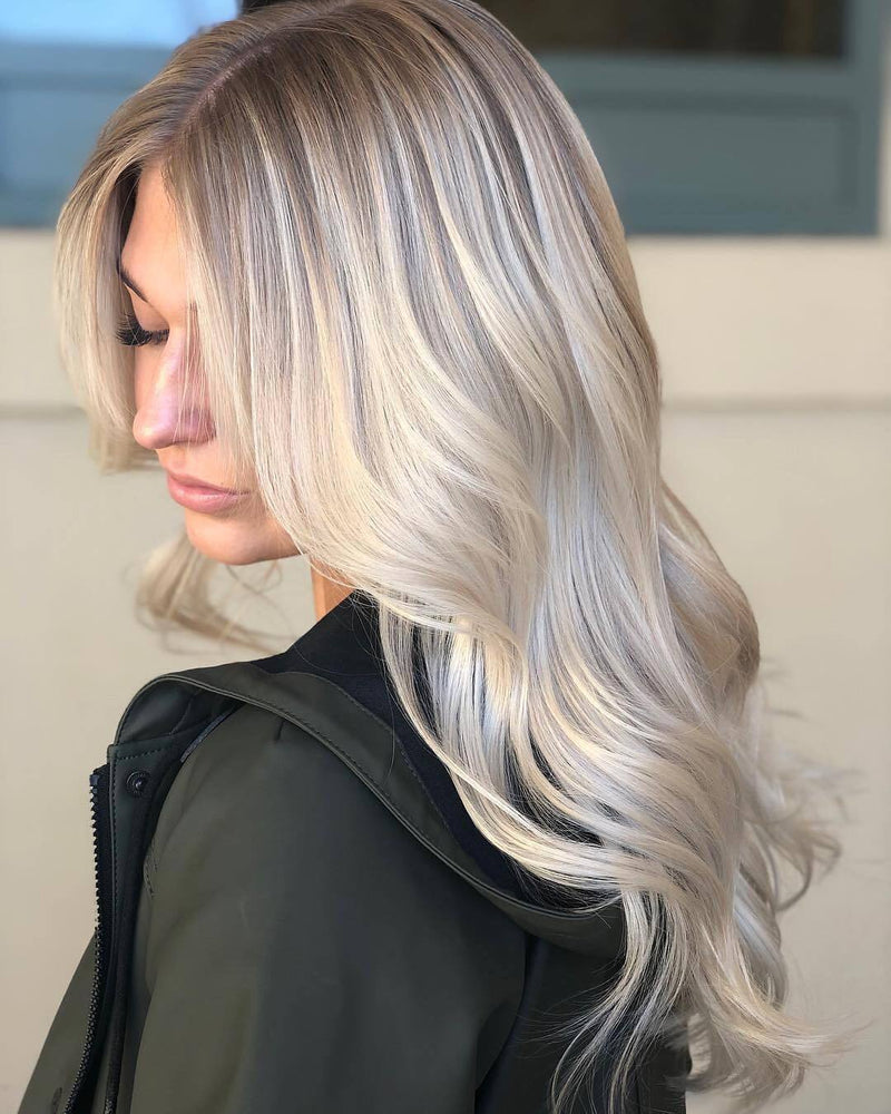soft blonde lovely Shadowroot wig - satisionline