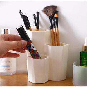 Makeup Organizer | Brush Storage Box