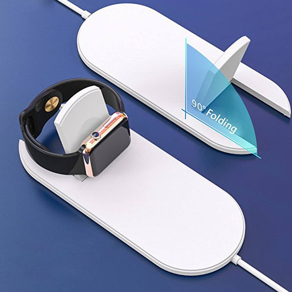 FAST WIRELESS CHARGER | COMBO FOR MOBILE, HEADPHONES OR WATCH