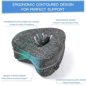 Cooling Memory Foam Knee Pillow | Pregnancy Pillow