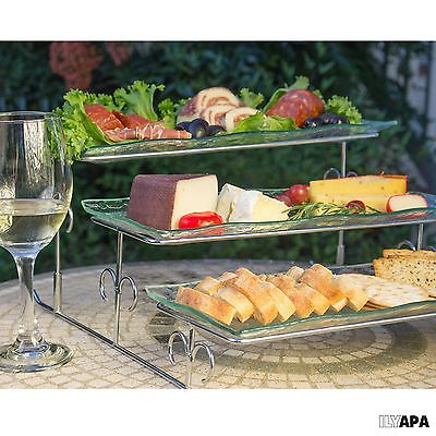 3 Tier Server Platter Stand & Trays party,wedding,shower