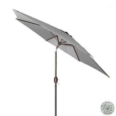 6 Ft Outdoor Patio Umbrella with Aluminum Pole, Easy Open/Close Crank and Pus...