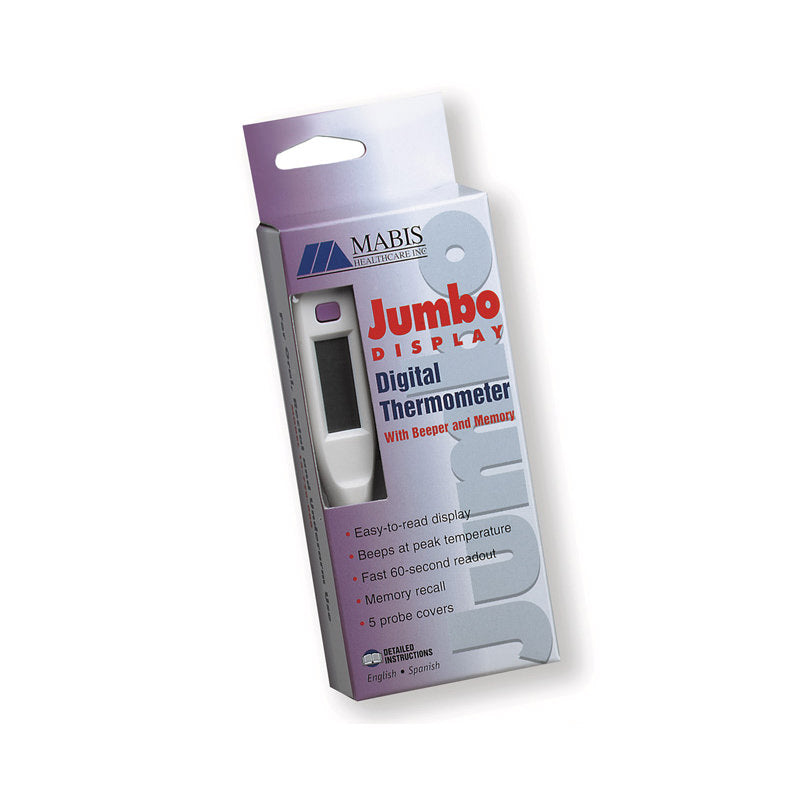 MABIS® 60-Second Jumbo Display Thermometer