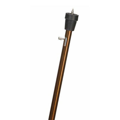 Retractable Ice Tip Cane, Standard Grip, Bronze