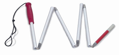 Mabis Folding Cane for Visually Impaired