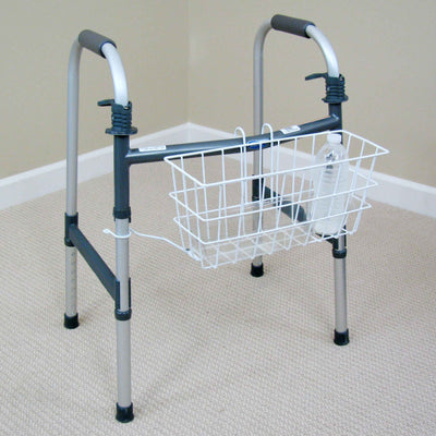 Mabis Clip-On Walker Basket