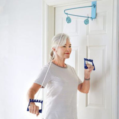 DMI Shoulder Arm Exercise Pulley Set, Over the Door