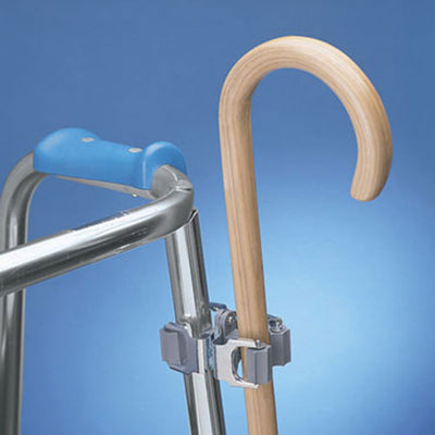 Cane Holder for Walkers Wheelchairs