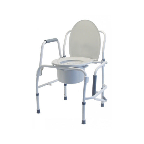 Graham-Field Silver Collection 3-in-1 Steel Drop Arm Commode