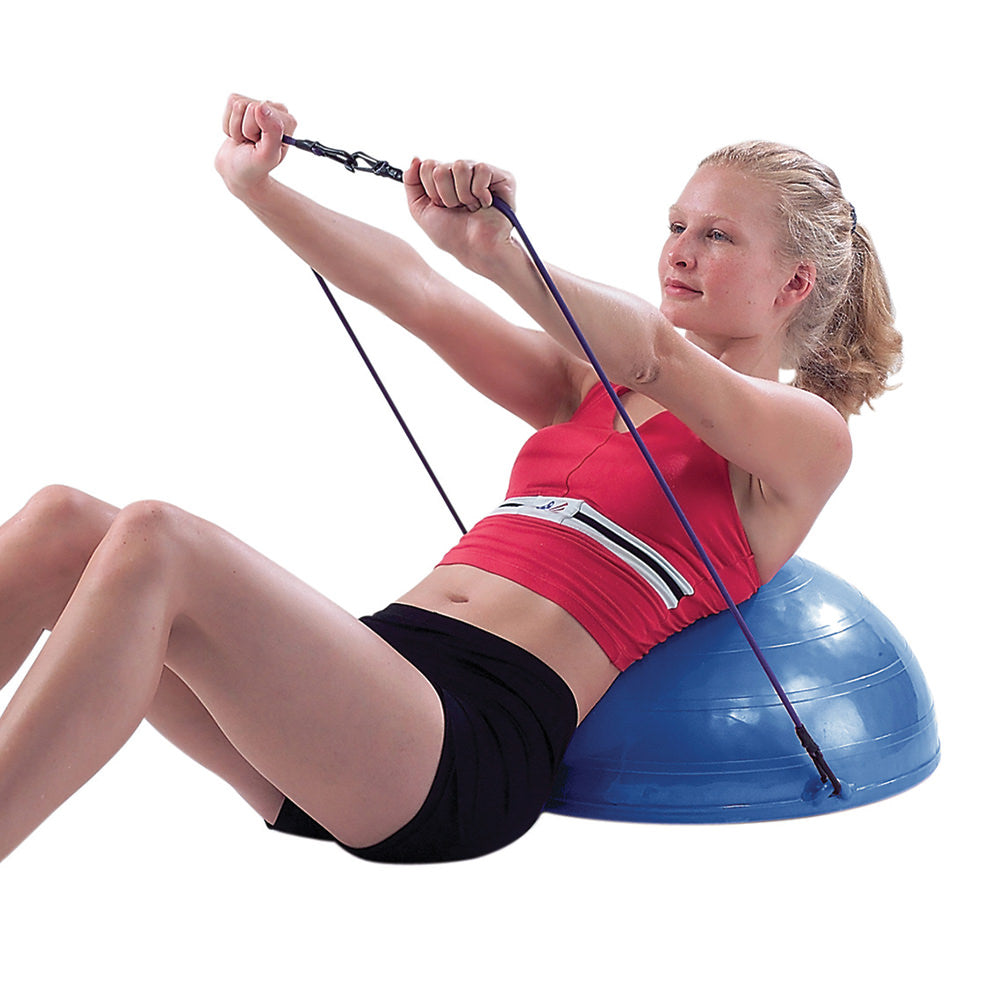 "CanDo® Core-Training Vestibular Dome - 21"" with Resistance Cords"