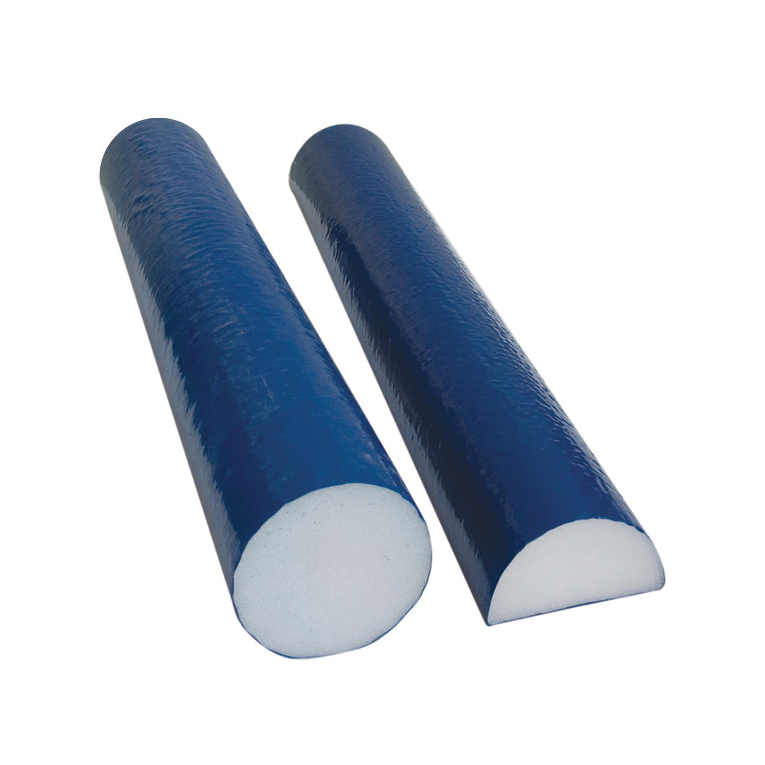 CanDo® Foam Roller - PE Foam, Blue TufCoat™ Finish