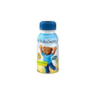 Pediasure Banana Cream 8oz. Retail Bottles