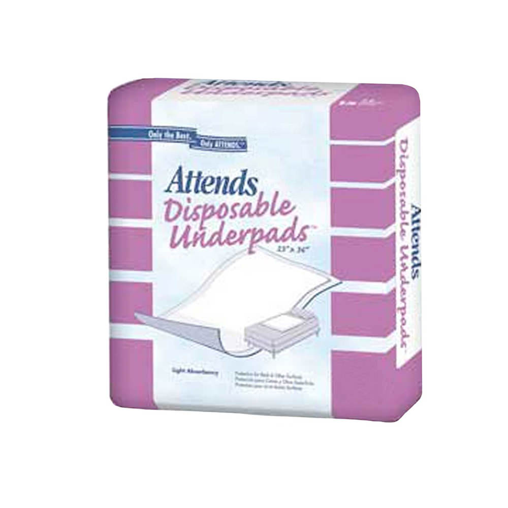 Attends Night Preserver Underpads (Extra Large, 36x36, Pack of 5)