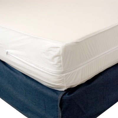 Heavy Duty Vinyl Split Boxspring Cover - King Size (2 Twin XL Vinyls)