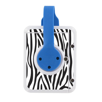 Clippo Bedwetting Alarm Starter Kit - Zebra Skin- Regular Flat
