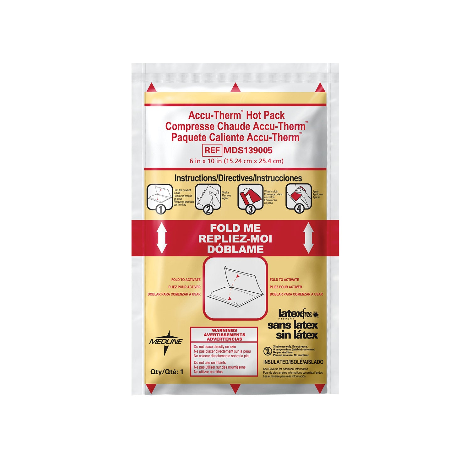Accu-Therm Instant Hot Packs (Insulated or Non-Insulated)