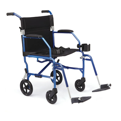 Medline UltraLight Transport Wheelchair