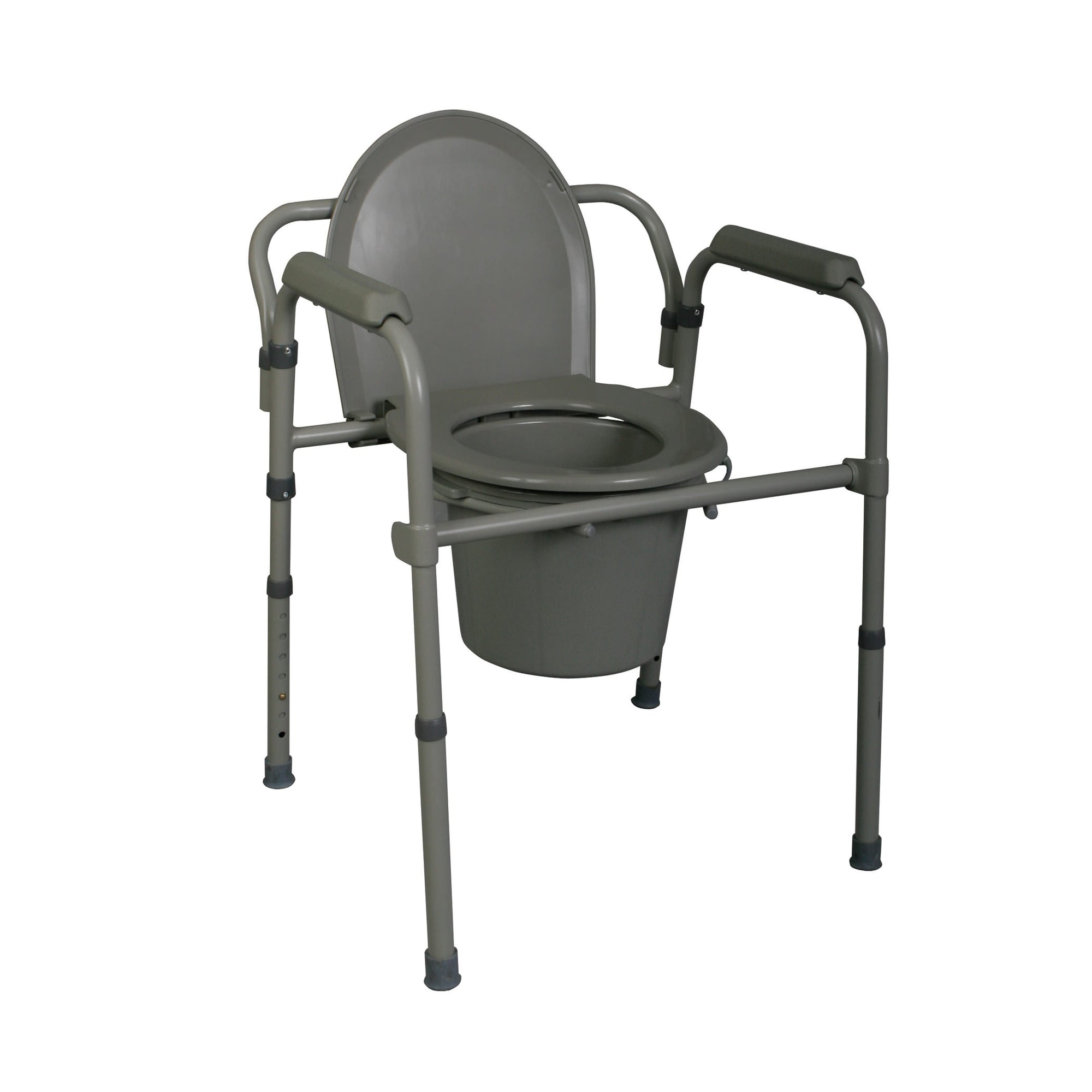Medline Steel Bedside Commode