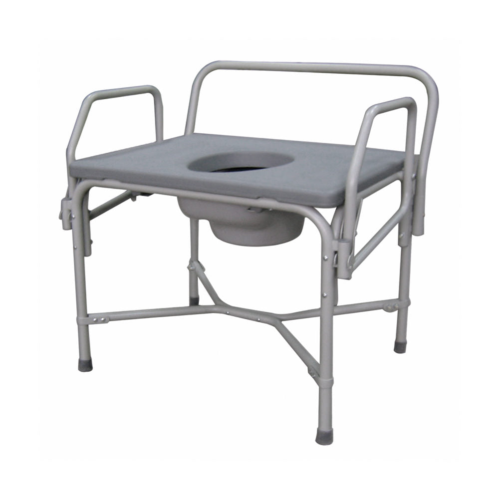 Medline Bariatric Drop-Arm Commode