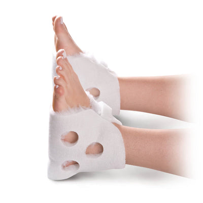 Medline Synthetic Fur Lined Heel Protectors