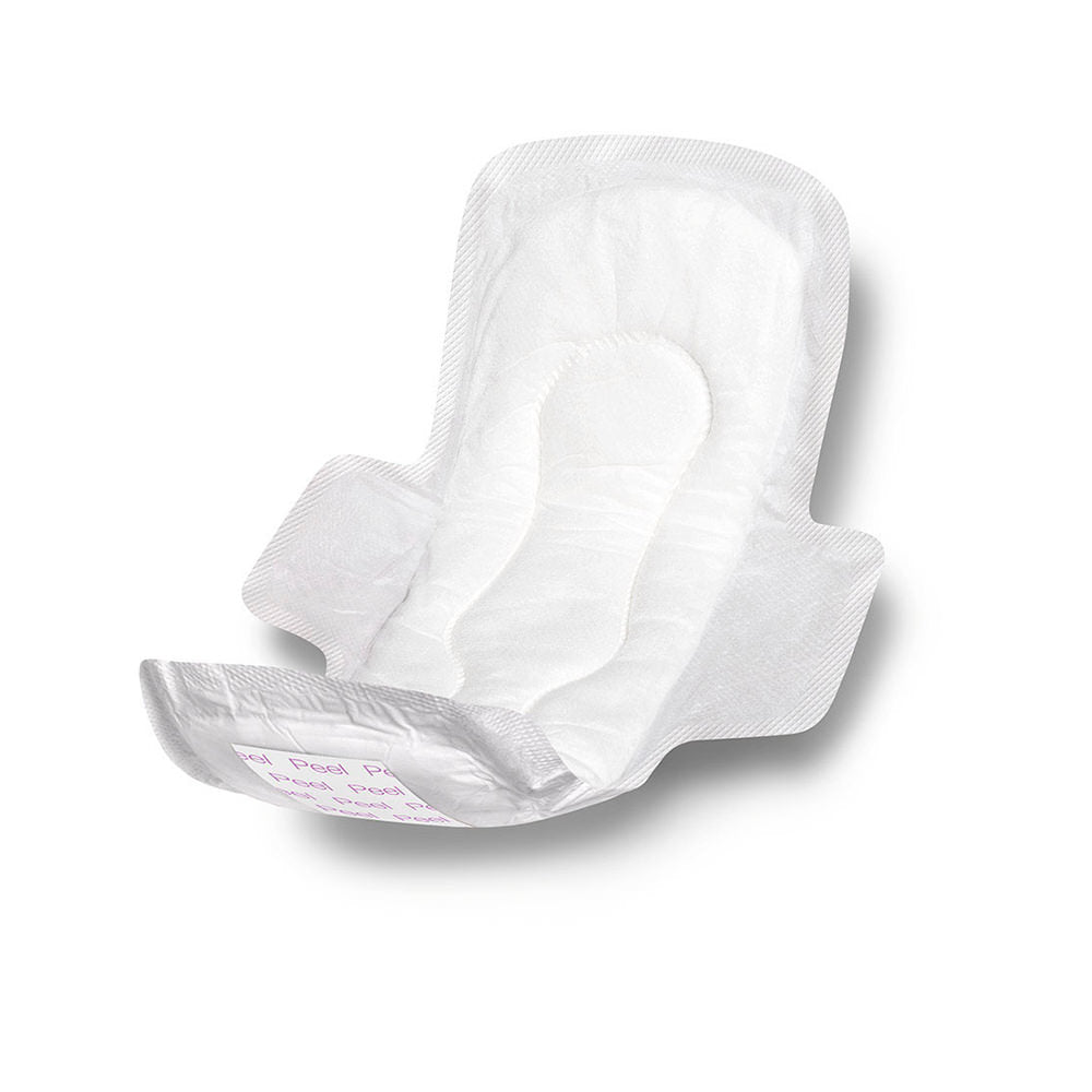 Sanitary Pad with Adhesive & Wing