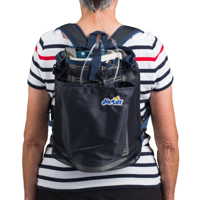 AirLift Backpack Carrier for Large Liquid Oxygen Portables