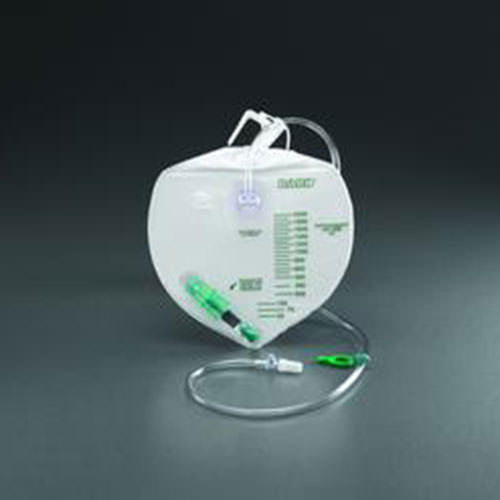 Bard® Infection Control Urine Drainage Bag - 2000cc Capacity
