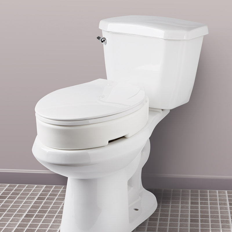 Fantastic Carex Hinged Toilet Seat Risers Theyellowbook Wood Chair Design Ideas Theyellowbookinfo