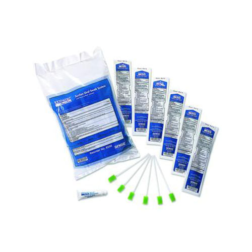 Toothette Multi-Pack Suction Swab System with Perox-a-mint