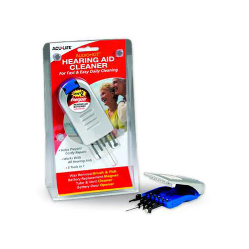 ACU-LIFE® Audio Kit™ Hearing Aid Cleaner