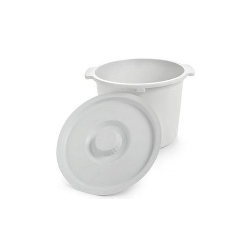 Replacement Commode Pail for Invacare Commodes (Models: 96504, 96301, 96304, 96104)