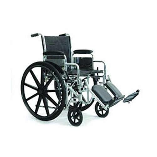 Invacare Supply Group Standard Wheelchair w/ Padded or Swing away Footrests