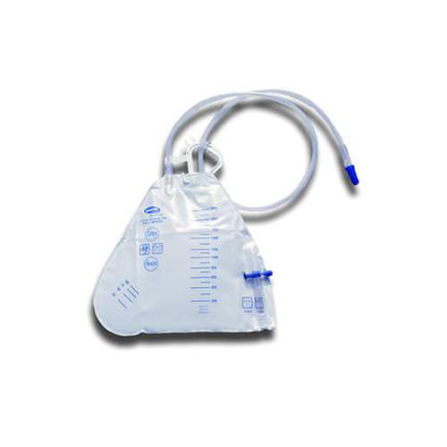 Invacare® Bedside Urinary Drainage Bags - 2000cc Capacity
