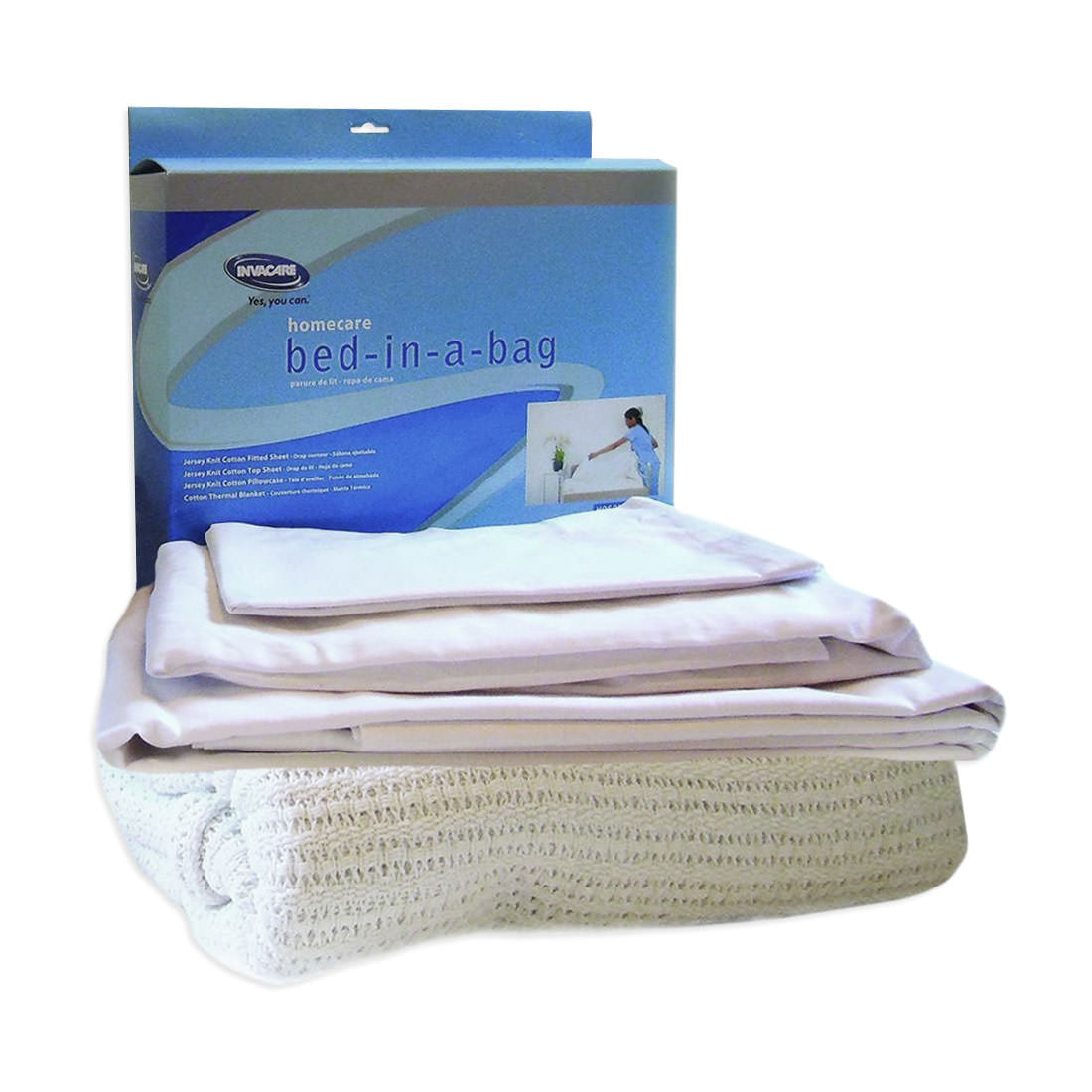 Invacare Cotton-Polyester Home Care Bed-in-A-Bag