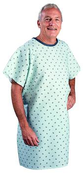 SnapWrap™ Deluxe Adult Patient Gown