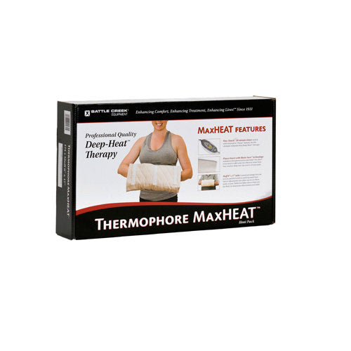 "Thermophore MaxHeat Muff/Hand Size - 8"" x 17"" - Rolled"
