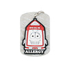 AllerMates Pint Dairy Allergy Alert Dog Tag (For Dairy Allergies)