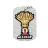 AllerMates Professor Wheatley Wheat Gluten Allergy Alert Dog Tag (For Wheat Gluten Allergies)