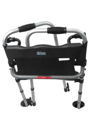 "Drive LS Clever-Lite 5"" Wheeled Walker"