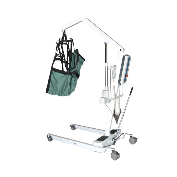 Drive Bariatric Battery Powered Patient Lift with Rechargeable Removable Battery (450 lbs. Capacity)
