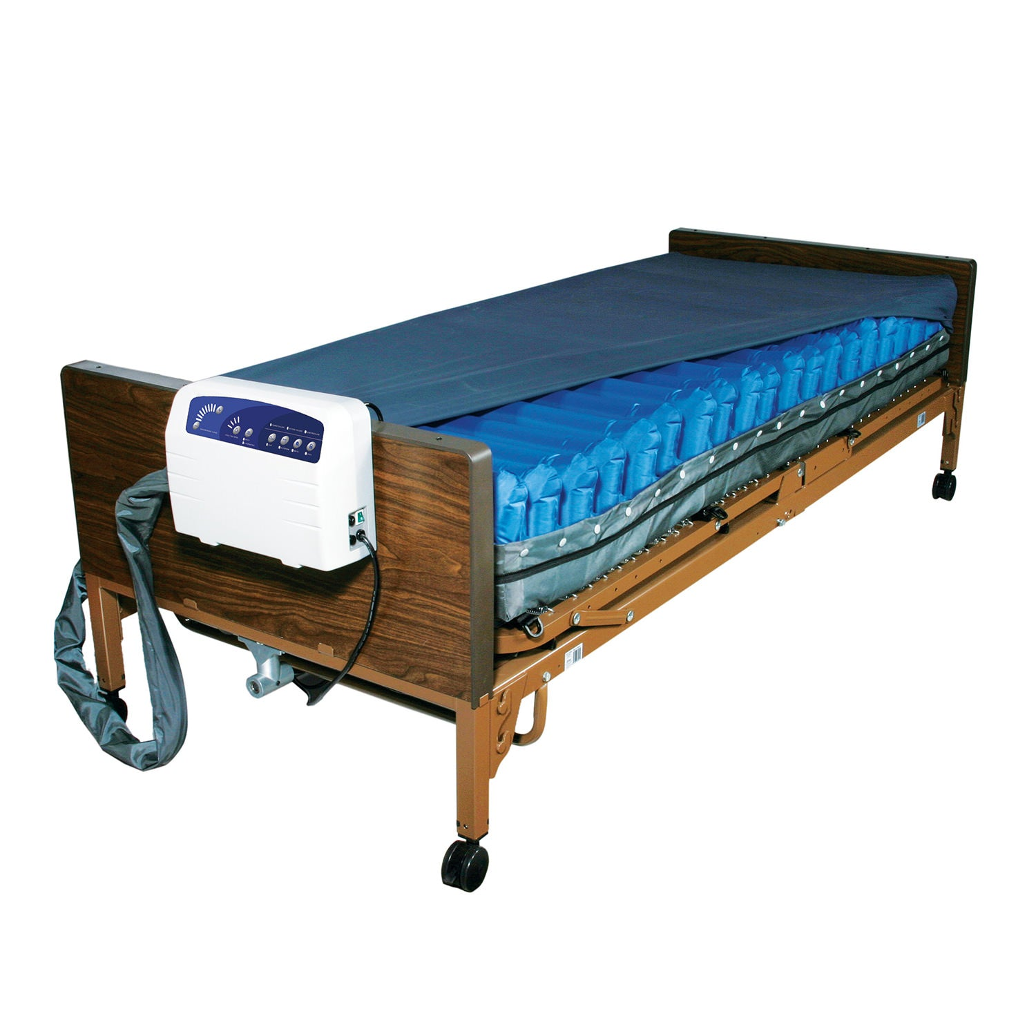 Med-Aire Plus Alternating Pressure Mattress Replacement System with Low Air Loss