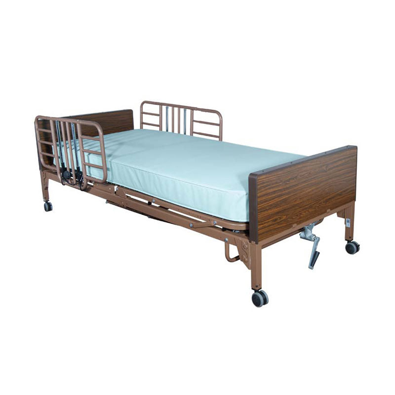 Drive Tool-Free, Half-Length Adjustable Bed Rail
