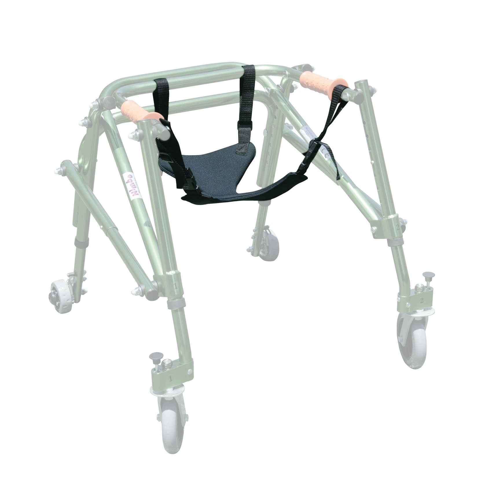 Seat Harness for all Wenzelite Safety Rollers and Nimbo Walkers